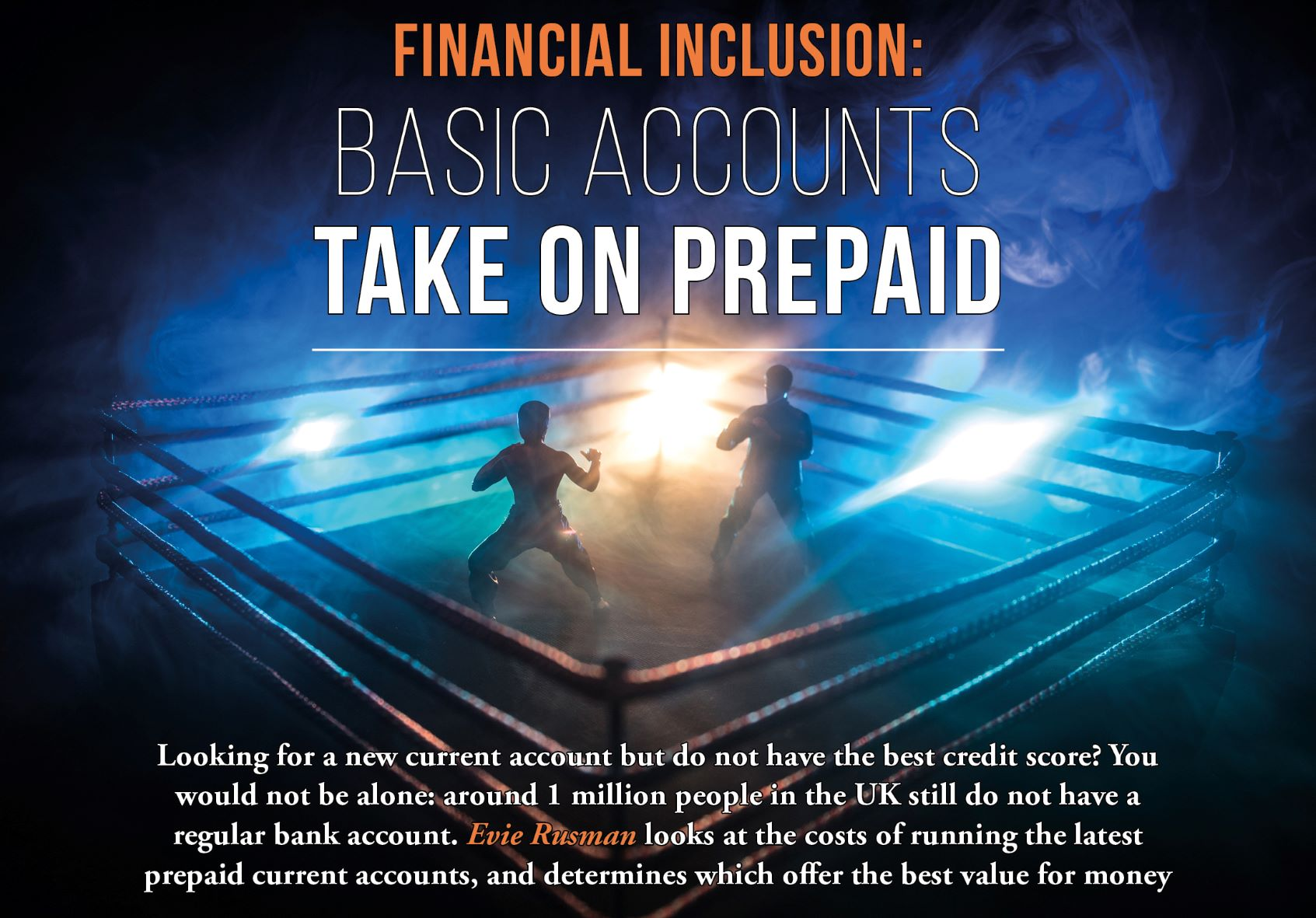 Sample subscriber content from Cards International: Basic Accounts take on Prepaid