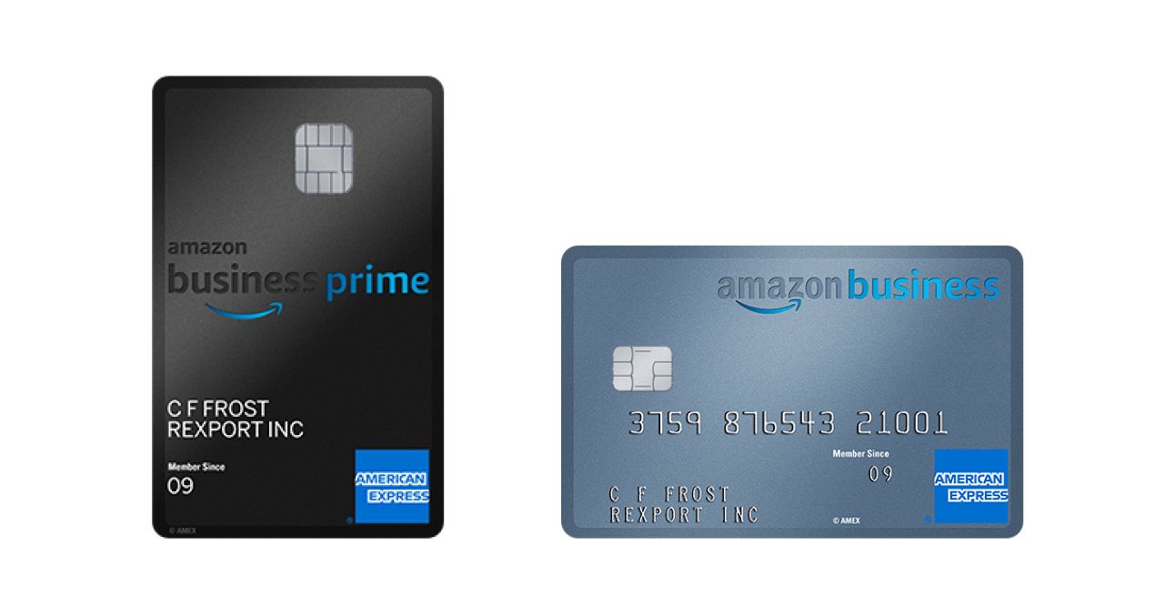 American Express and Amazon launch co-branded credit cards for UK SMEs