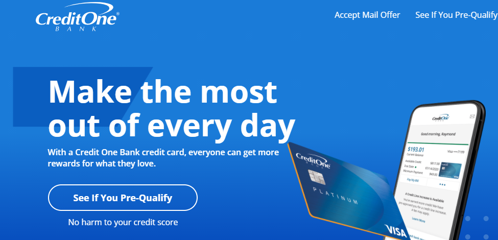 Credit One Bank launches 'credit card customers deserve more' campaign